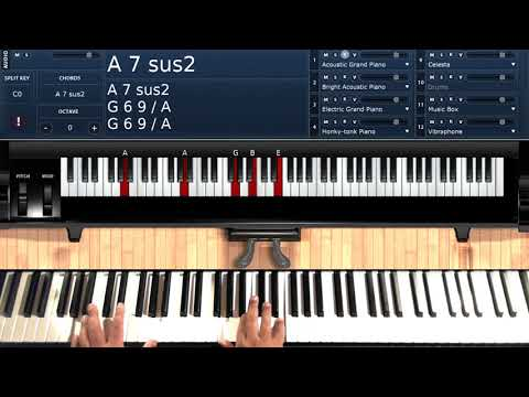 Hurry Up This Way (by The Stylistics) - Piano Tutorial