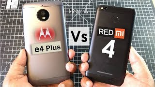 Redmi 4 vs Moto E4 Plus | Battery, Gaming, Design & Build, Camera, Sound