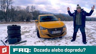Peugeot 208 - FAQ:Na ktorú nápravu použiť horšie pneumatiky? - GLOG #49