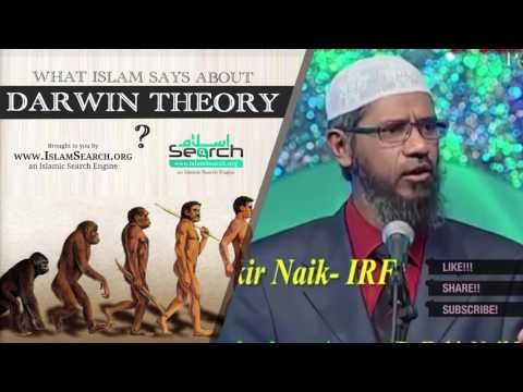 What Islam says about Darwin theory ┇ Zakir Naik best answer ┇ IslamSearch.org