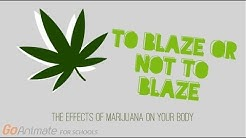 To blaze or not to blaze: the effects of marijuana on your body