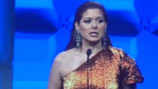 Debra Messing honored GLAAD Awards, NYC