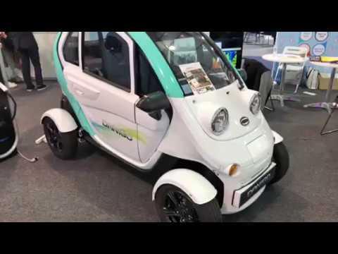 Daechange Motors Danigo Electric Car At CES 2018 #CES2018
