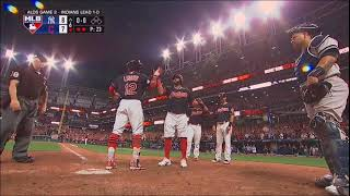Tom Hamilton call on Francisco Lindor Grand Slam ALDS 2017