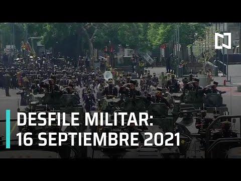 En vivo: Desfile militar 2021 por los 211 años del inicio de la Independencia de México