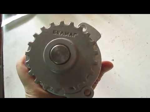 Cмотреть видео Помпа ваз 2109 (8 кл) Калина (16 кл)