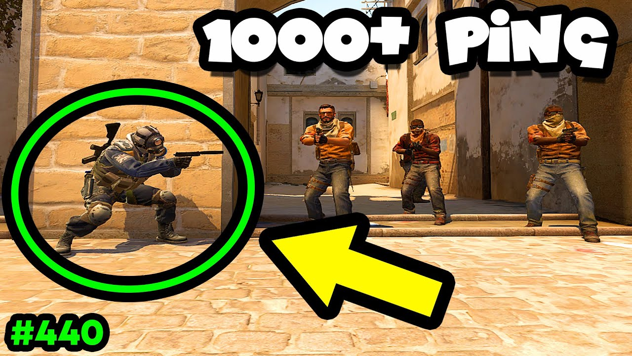How to WIN WITH 1000 PING! - CS:GO BEST ODDSHOTS #440