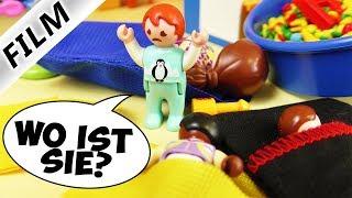 Playmobil Film deutsch | ÜBERNACHTUNG IN KITA - Kind wird vermisst! | Kinderserie Familie Vogel