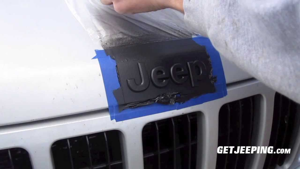Plasti Dip Emblems >> How To Plasti Dip Emblems Getjeeping Youtube