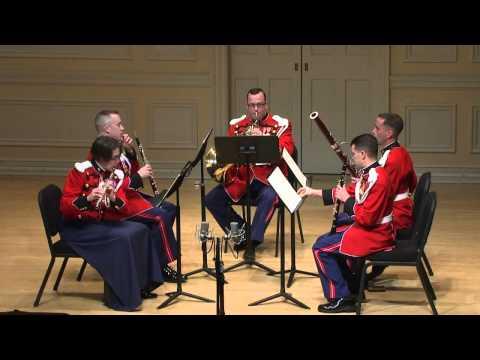 Irving Fine Partita for Wind Quintet