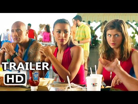 BAYWATCH Official Team Trailer (2017) Dwayne Johnson, Zac Efron, Alexandra Daddario Comedy Movie HD
