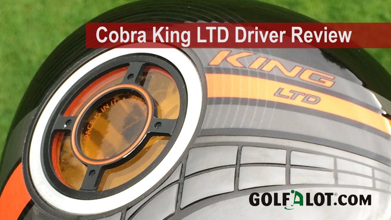 Cobra King Ltd Driver Review Golfalot