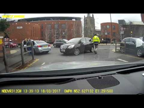 Norwich City Theatre Street Bus Gate Fiasco