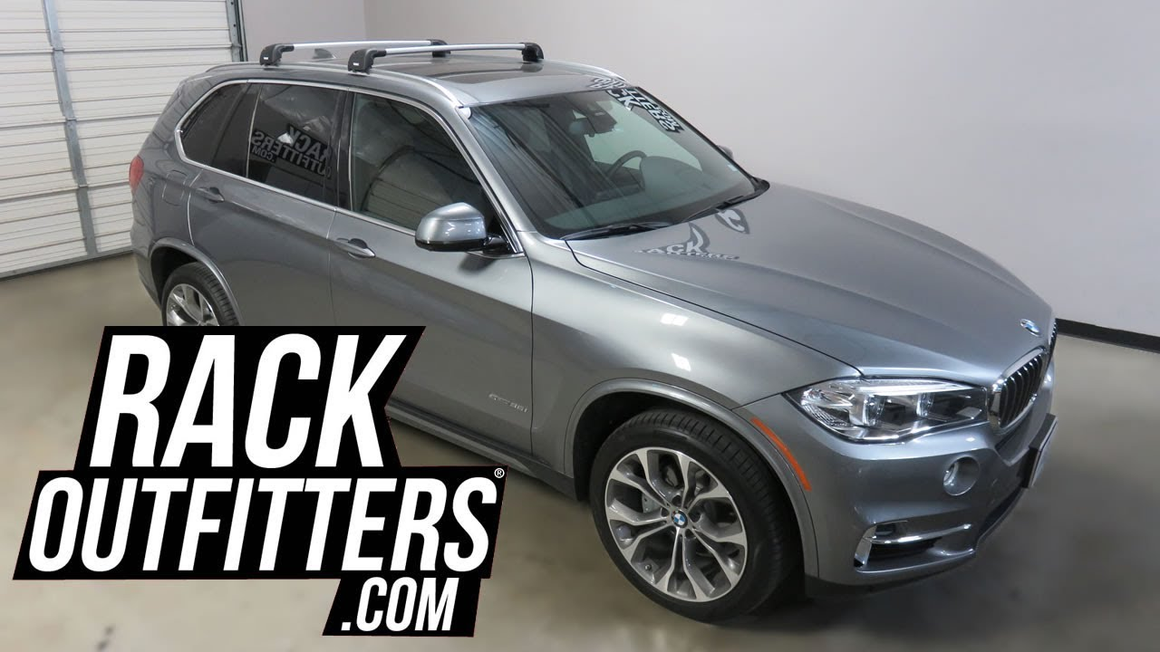 BMW X5 With Thule AeroBlade Edge Roof Rack Crossbars By Rack Outfitters