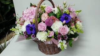 [꽃배달뜰]꽃바구니 /생신꽃바구니/생일 기념일꽃바구니/…