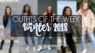 OUTFITS OF THE WEEK: WINTER 2018 (TRENDY & WARM)