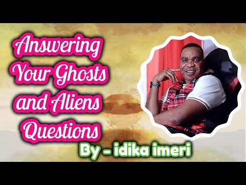 Answering your ghosts and Aliens questions: Ghost and Alien TV