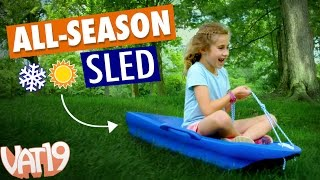 Sled in the Summer