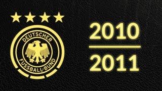 Länderspielsaison 2010/2011 - Alle Tore Deutschland