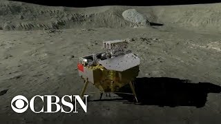 China lands a rover on the far side of the moon