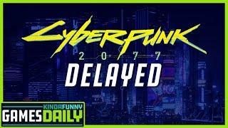 Cyberpunk 2077 Delayed - Kinda Funny Games Daily 01.16.20