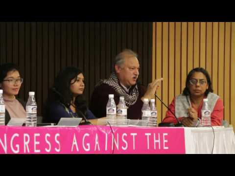 Shakeel Ahmad Khan at World Congress Against Sexual Exploitation of Women & Girls