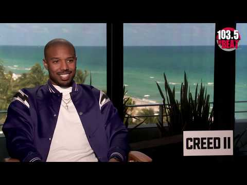 Papa Keith - Interview with Michael B. Jordan of Creed II!