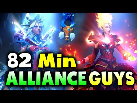 ALLIANCE vs New GUYS - IMBA LATE GAME! - BTS Summer CUP DOTA 2