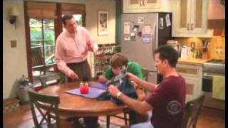 Two and a Half Men - Charlie tried to mail his pants