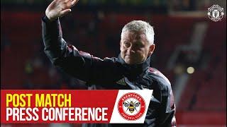 Solskjaer talks Varane & Sancho | Post-Match Press Conference | Manchester United 2-2 Brentford