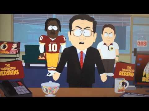 Comedy Central's South Park Redskins promo