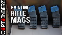 Camo Painting Rifle Magazines (AR-15/AK47/74)