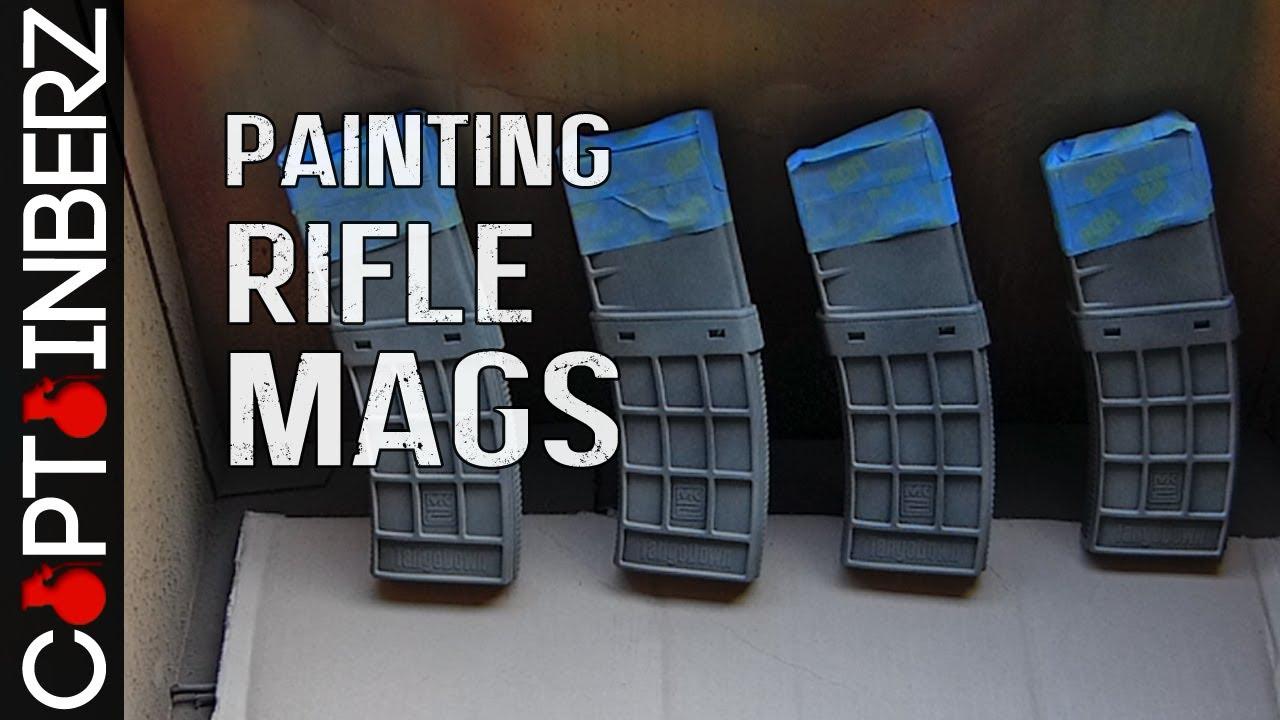 Custom Painted Ar Magazines