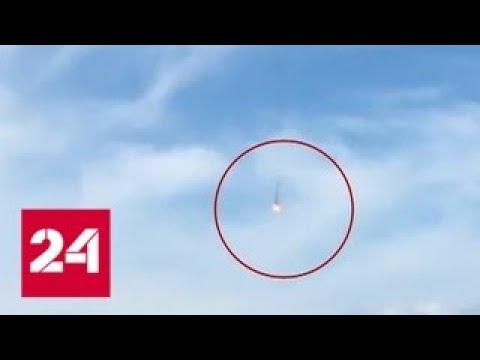 Столкновение истребителей в Германии: один из пилотов погиб