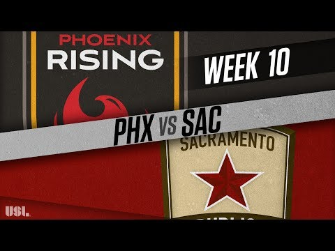 Phoenix Rising FC vs Sacramento Republic FC: May 19, 2018