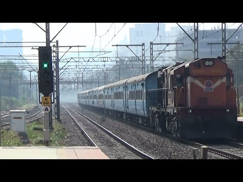 TRAIN FOR TIME TRAVEL : HISTORY TO FUTURE : Kalyan ALCO With Dadar Aurangabad JanShatabdi Express