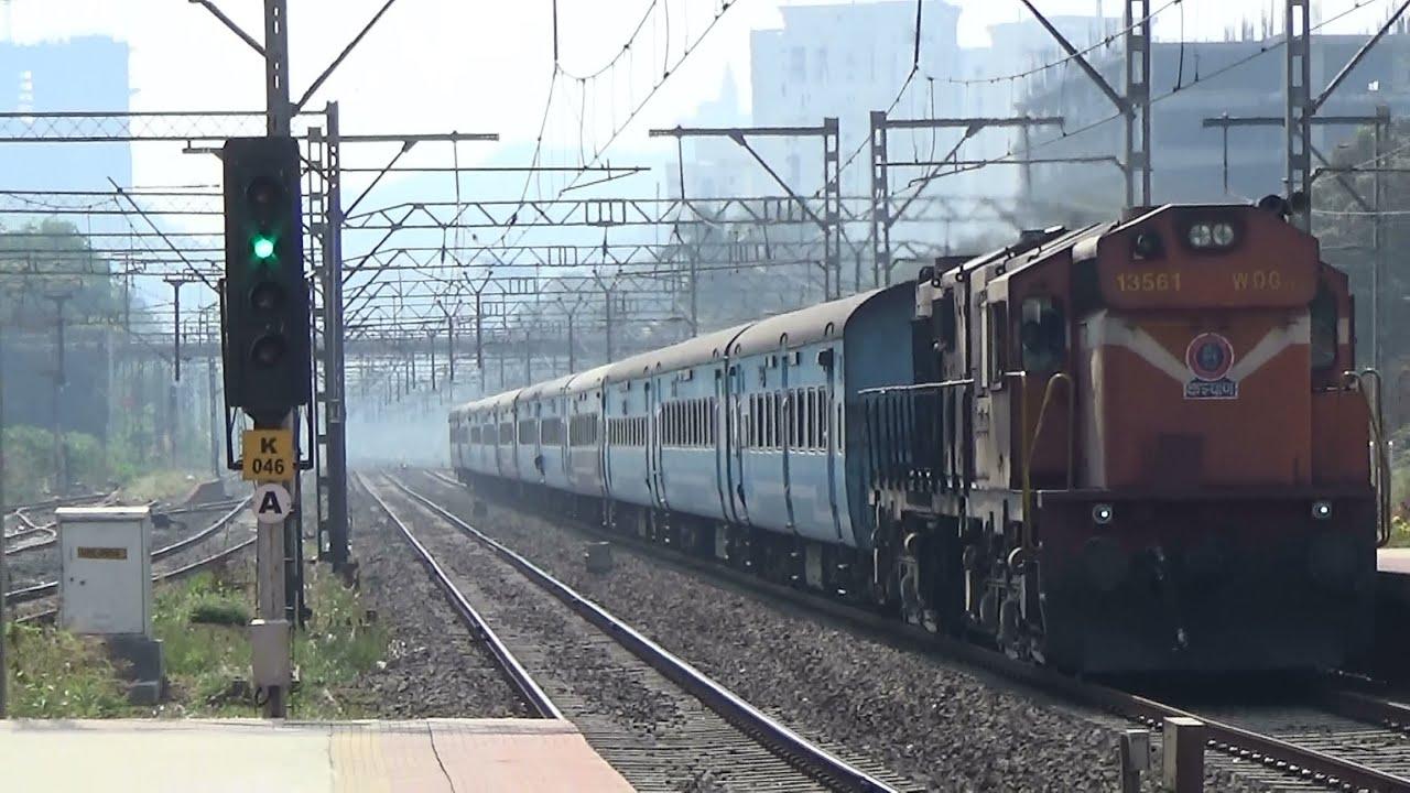 TRAIN FOR TIME TRAVEL : HISTORY TO FUTURE : Kalyan ALCO With Dadar  Aurangabad JanShatabdi Express by Indian Railways - Gunjan Pandya