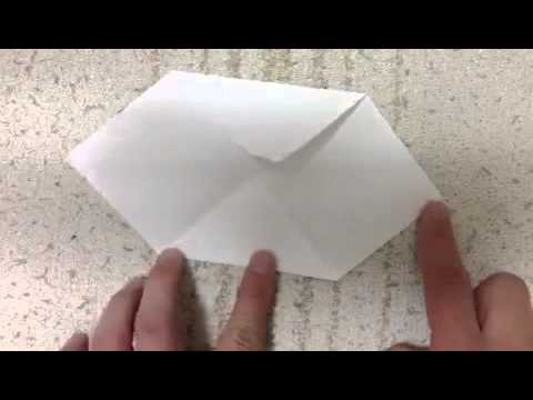How To Make A Origami Cloud