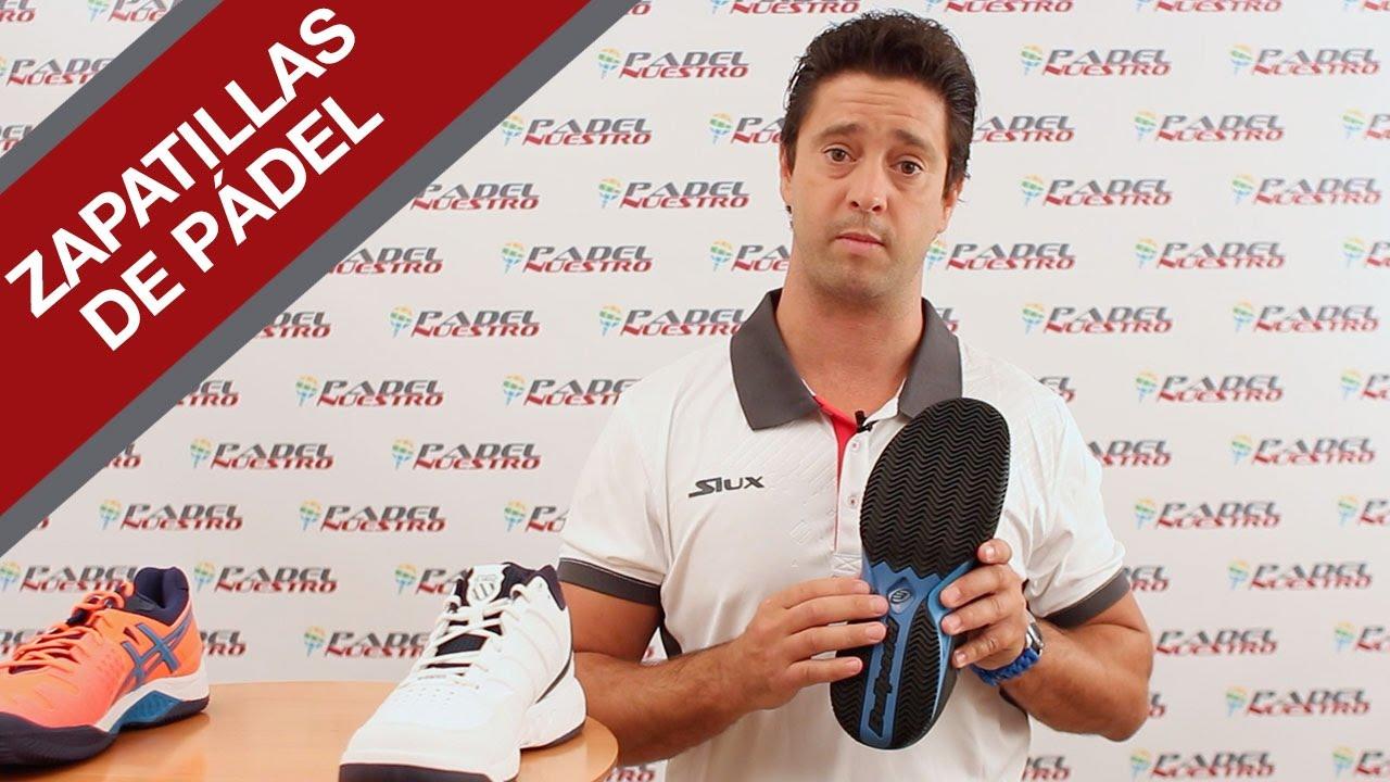 Zapatillas De Pádel Padel Nuestro Youtube