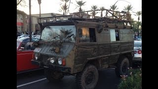 Pinzgauer 710 Swiss Army Radio Command Vehicle at Cars and Coffee Scottsdale