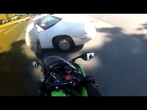 Motorcycle Crash at 80+