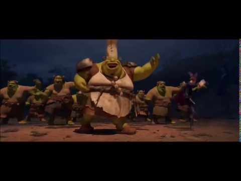 Shrek Forever After: Pied piper scenes