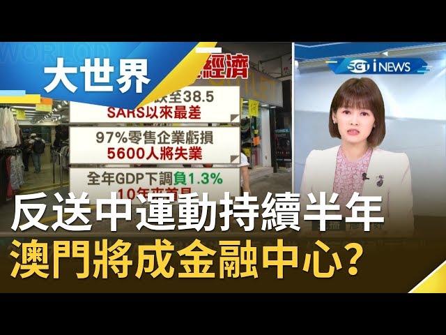 香港失寵?!反送中運動持續超過半年!傳習近平擬將