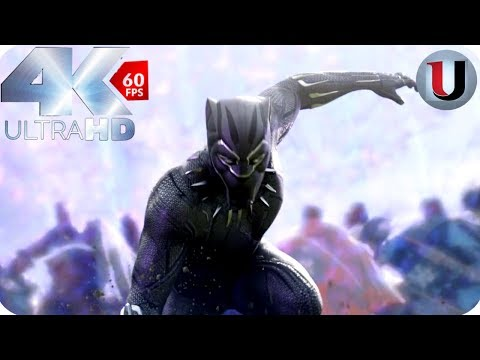 Black Panther - Return Of The King T'Challa - MOVIE CLIP (4K HD)