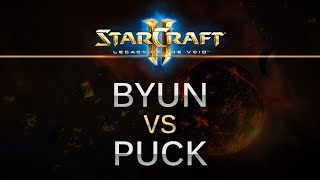 SC2 -- Legacy of the Void -- ByuN (T) v puCK (P) on Dusk Towers