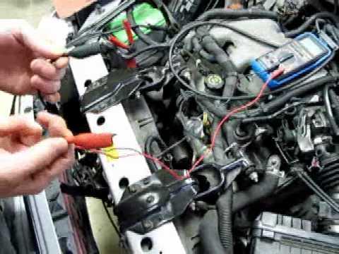 Pontiac Tps Wiring Air Temperature Sensor Testing Youtube