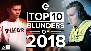 The Top 10 Blunders of 2018