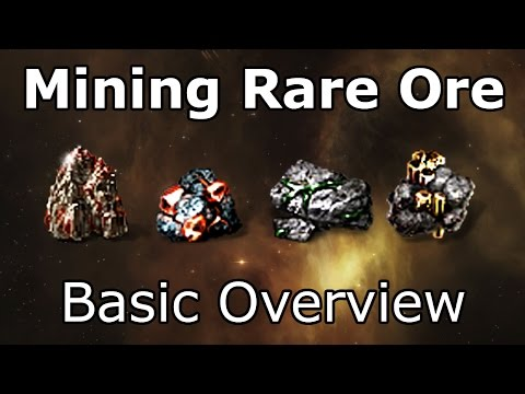 Mining Rare Ore - EVE Online