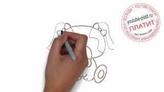Нарисованные карандашом собаки  Как нарисовать карандашом игрушечную собаку