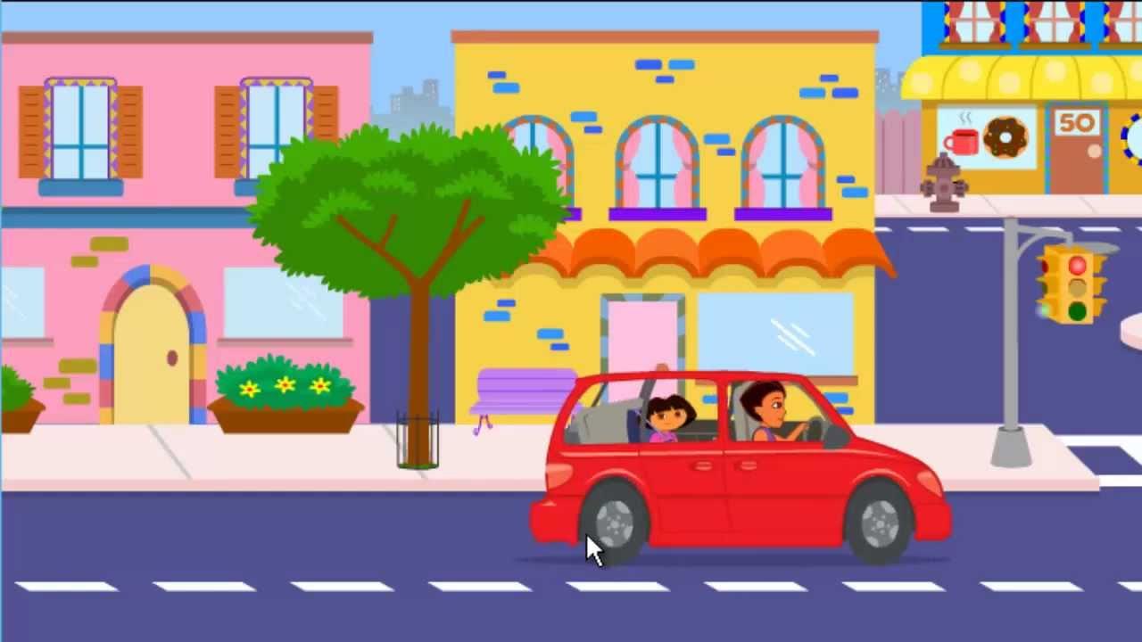 Dora The Explorer Dora S Ride Along City Adventure Game